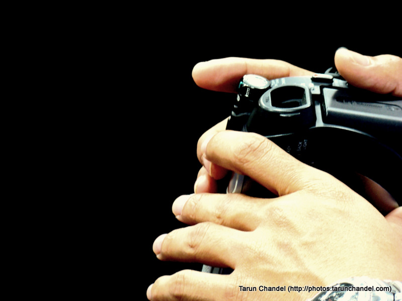 Handling Camera, Tarun Chandel Photoblog