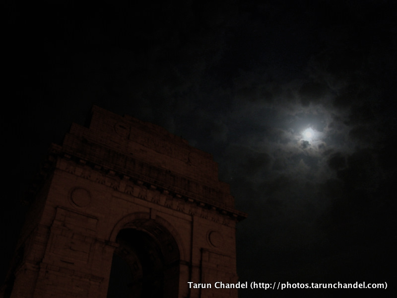 India Gate Night Photography New Delhi, Tarun Chandel Photoblog