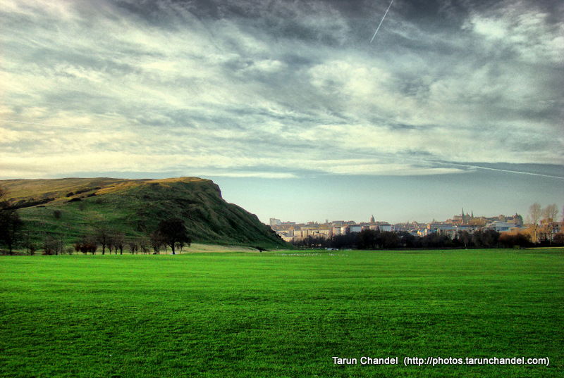 Arthurs Seat Edinburgh Scotland HDR, Tarun Chandel Photoblog