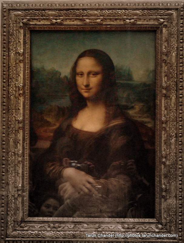 Mona Lisa Louvre Museum Paris France, Tarun Chandel Photoblog