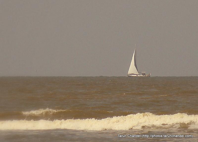 Sailing Boat North Sea Netherlands, Tarun Chandel Photoblog