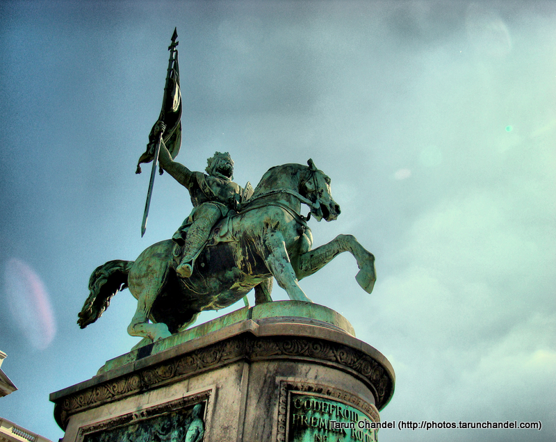 Godfrey of Bouillon King Bouillon Brussels, Tarun Chandel Photoblog