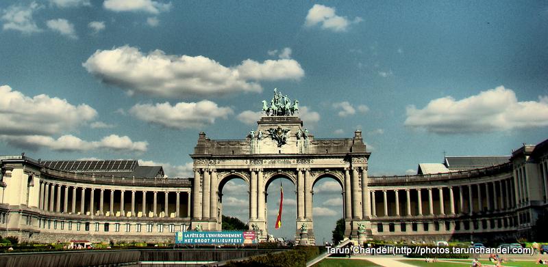 Cinquantenaire Triumphal Arch of Triumph Belgium Brussels, Tarun Chandel Photoblog