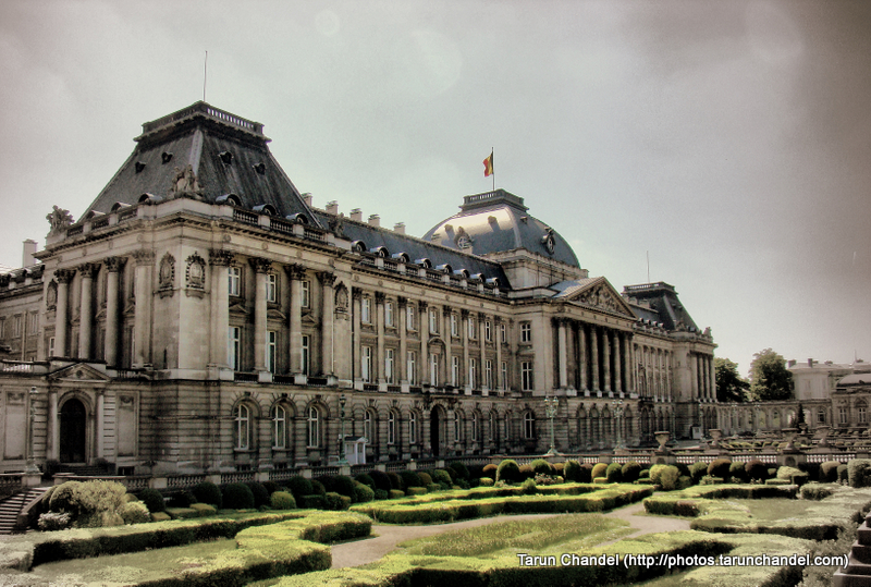 Royal Palace of Brussels Belgium, Tarun Chandel Photoblog
