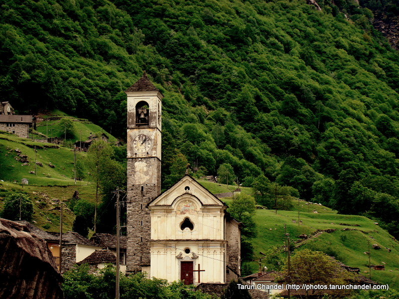 Old Church Verzasca Valley Locarno Switzerland, Tarun Chandel Photoblog