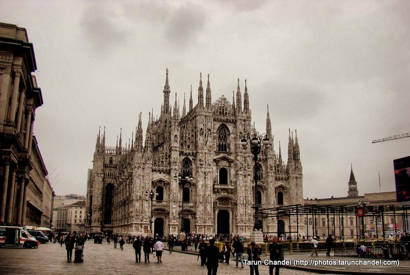Milan Duomo Milan Cathedral Full Milan Italy, Tarun Chandel Photoblog