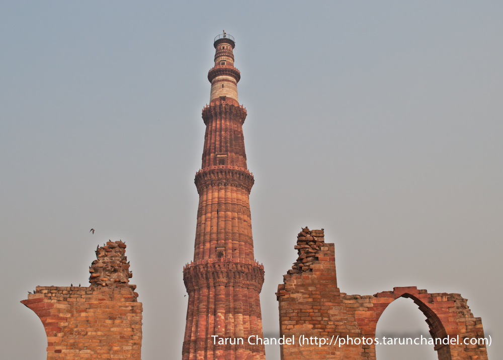Qutub Minar Ruins New Delhi, Tarun Chandel Photoblog