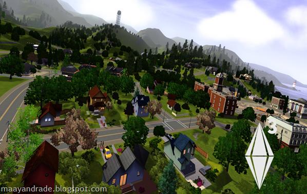 the sims 3 cidade