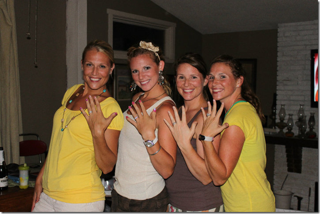 maggie austin engagement sisters hand