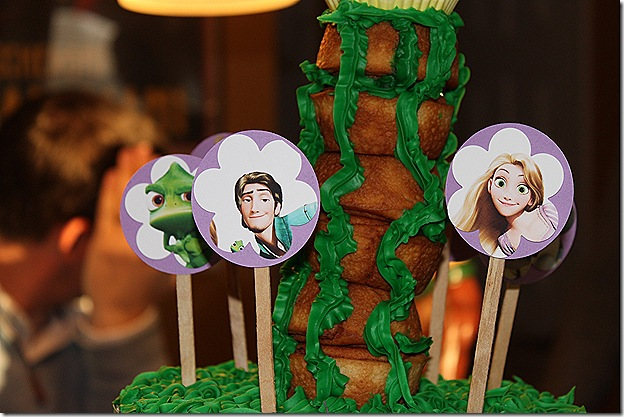 Sophie 5 cupcake toppers