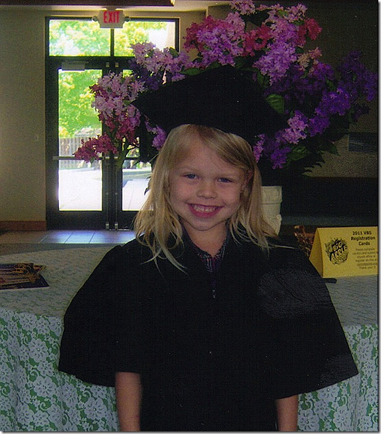 sophie preschool graduation