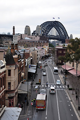 Russell Hotel and Sydney Harbour Bridge