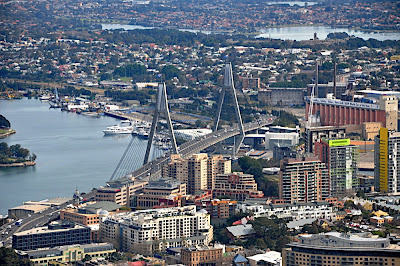 Anzac Bridge, Sydney, NSW, AU