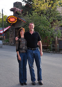 evan and mary at grizzly bar