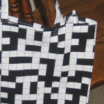 Crossword Fabric Bag
