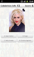 Screenshot of Logo Quiz Celebrities