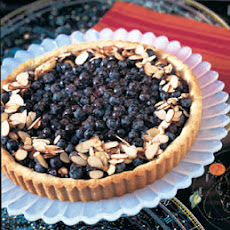Blueberry-Almond Tart