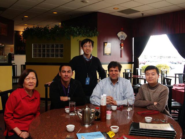 和以前的同事一起吃饭 - bldr - Georges blog