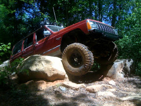 XJ on the rocks