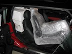 4 Corbeau Baja RS seats in a Mini Clubman S