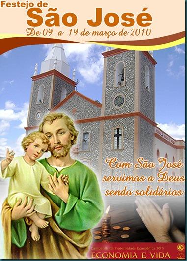 Capa - Livro de São José 2010 imagem
