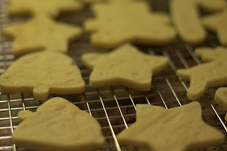 picture of cookies baked until just golden