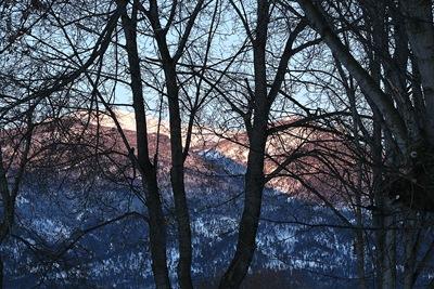 morning mountains 4x6