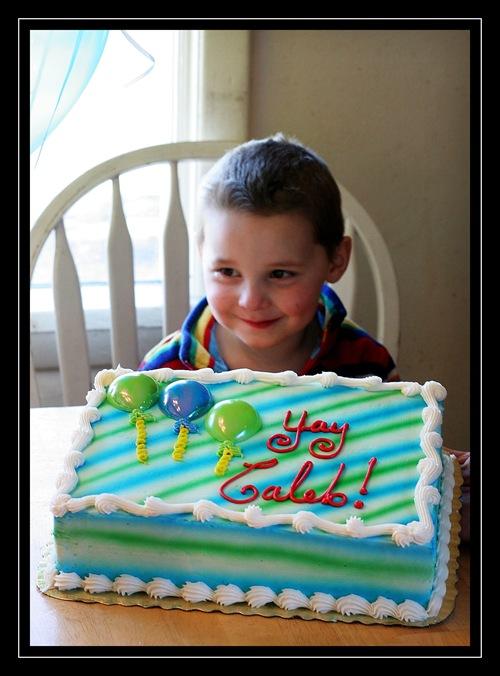 Yay Caleb cake