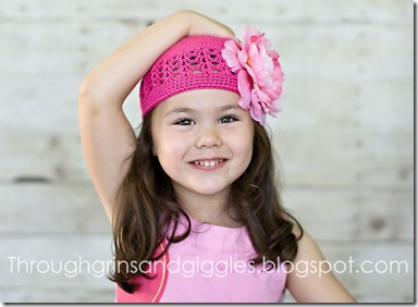 Bella's Bowtique Pink Hat 125 copyweb