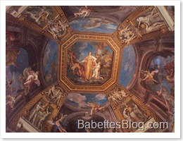 Vatican Museum Painted Ceiling