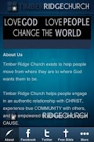 Screenshot of Timber Ridge Church