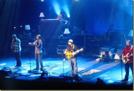 Zac Brown Band on stage.