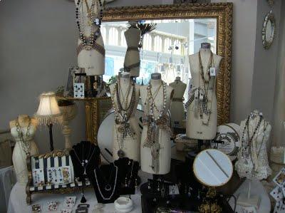 bridal jewelry can go on this kind of display