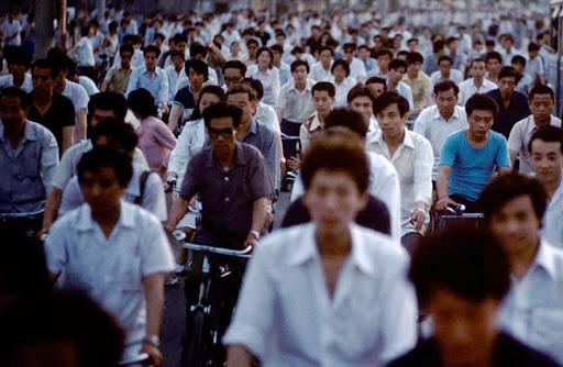 Ilustrasi Kepadatan Populasi Tiongkok