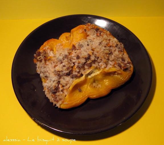 Peperoni ripieni di carne e riso