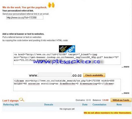 domain co.cc gratis 20