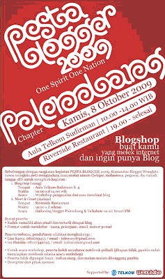 Pesta Blogger 2009 Palembang