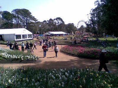 Floriade flower beds