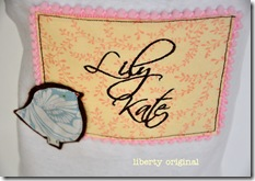 Lily Kate Onesie Slant view