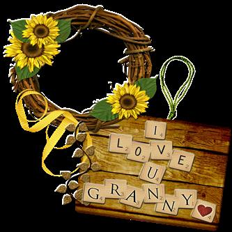 i love granny frame