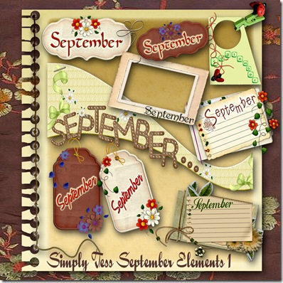 SimplyTess September Elements 1 Preview
