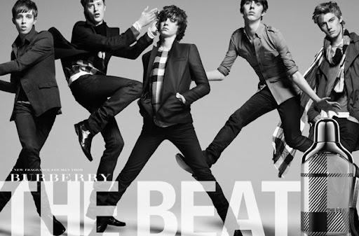 "Burberry ""the Beat"" men - Alex Pettyfer (far right!) posted by (e)"