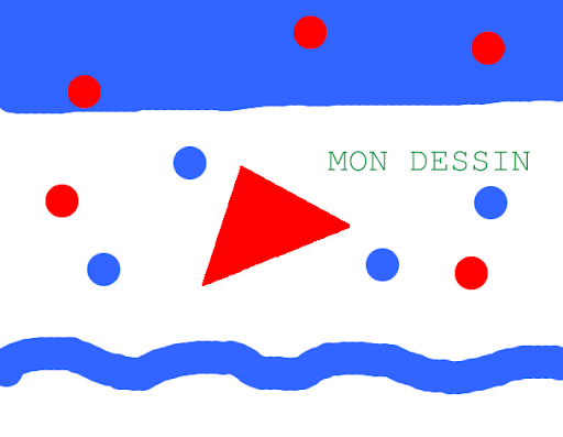 exemple de fond avec Tuxpaint