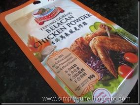 Belacan Chicken