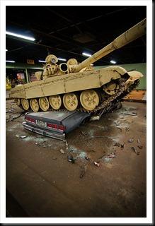 Iraqi T-72A Tank