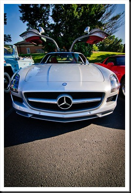 cars_and_coffee-Mercedes-Benz-SLS