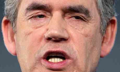 Gordon Brown dash pic
