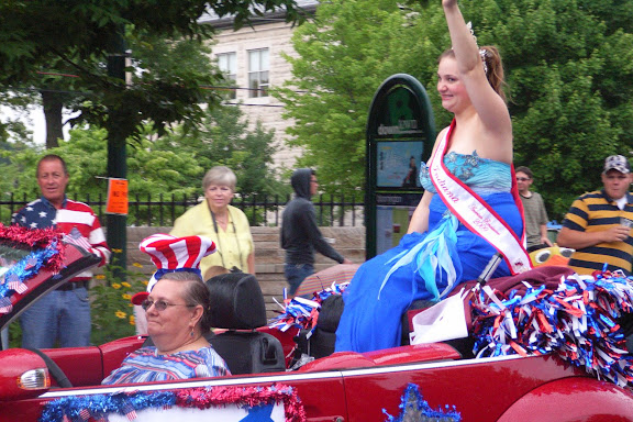 2009 Miss Indiana也来助兴了