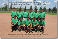 Medicine Hat Senior Mens Slo Pitch Tournament Jul 11, 2009 068F