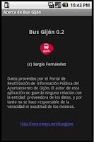 Screenshot of Bus Gijon